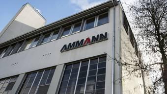 Die Baumaschinenfirma Ammann streicht Stellen am Standort Langenthal.