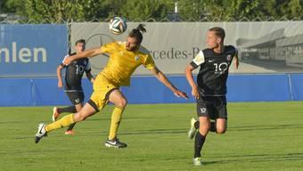 Sawwas Exouzidis (in gelb) wechselt von Wohlen zu United Zürich.