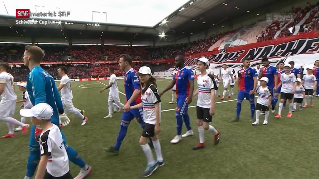 Der FC Basel gewinnt den Cup-Final