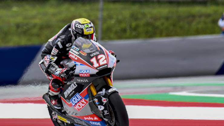 Tom Lüthi büsste am ersten Trainingstag in Le Mans gut eine halbe Sekunde auf die Moto2-Spitze ein