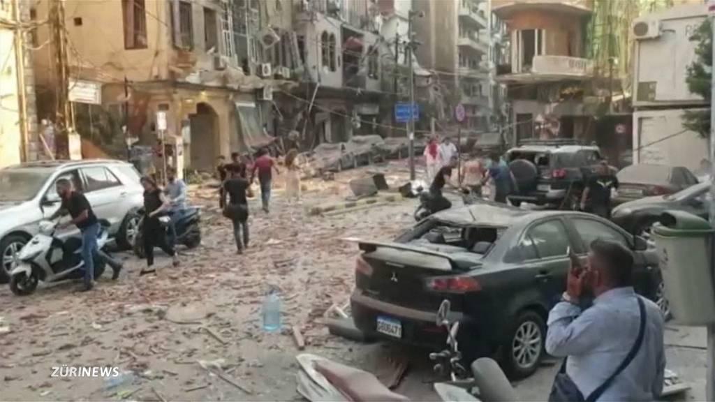 Beirut stürzt durch Explosion noch tiefer ins Elend