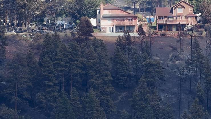 Die Waldbrände im Westen Kanadas bedrohen ganze Städte. Bis zu 37'000 Menschen mussten ihre Häuser verlassen.