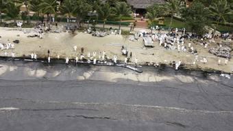 Ölteppich erreicht thailändische Insel Koh Samet