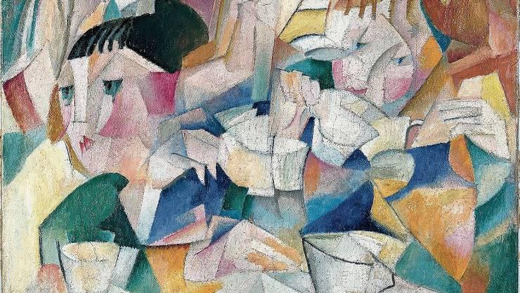 """Die Ausnahme: Alice Bailly ist in mehreren Museen präsent. Im Bild """"le thé"""" ."""