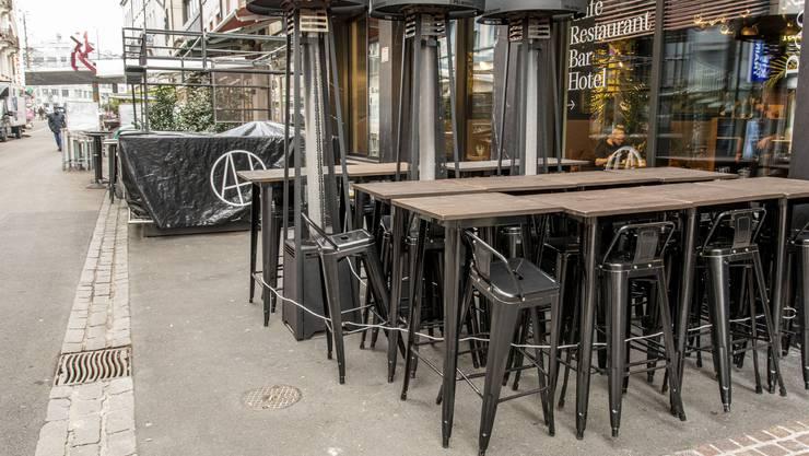 Die Gastrobetriebe im Kanton Basel-Stadt sind seit dem 23. November geschlossen.