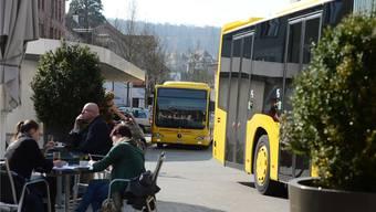 Der 83er-Bus hält seit dem Fahrplanwechsel Mitte Dezember nicht mehr am Wasserturmplatz.