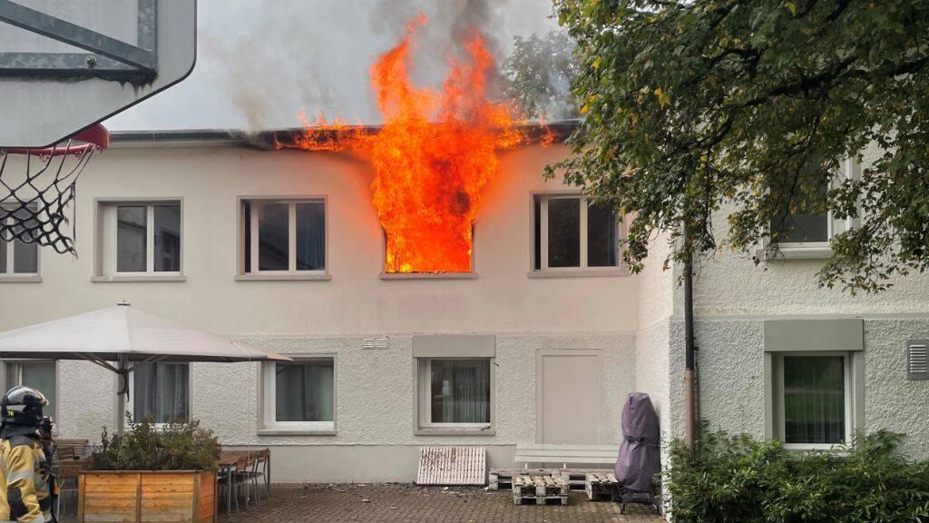 Zimmerbrand in Kinder- und Jugendstation – «Grösserer Schaden»