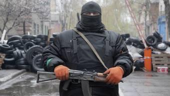 Pro-russische Angreifer in Slawjansk
