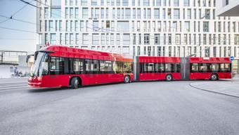 Hess hat auch schon Doppelgelenk-Batterietrolleybusse an Bernmobil geliefert.