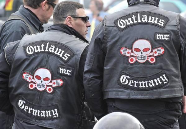 Outlaw-Mitglieder: Der Motorradclub unterhält verschiedene Ableger in Deutschland.