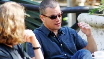 Matt Damon in Haiti