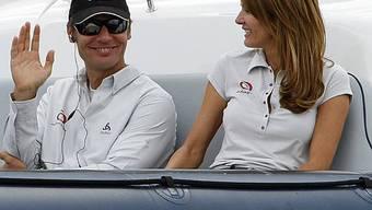 Kirsty und Ernesto Bertarelli noch immer glücklich verliebt (Archiv)