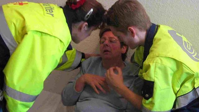 Die Samariter üben, im Ernstfall Gefahren frühzeitig zu erkennen und Leben zu retten. (Symbolbild)
