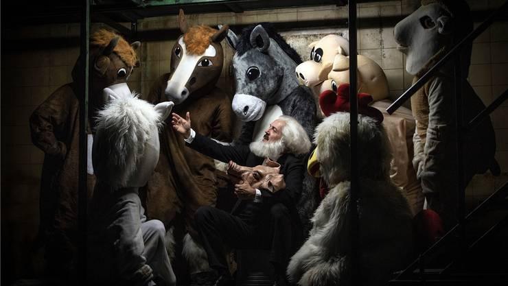 «Animal Farm» war die bestbesuchte Theaterproduktion der Saison 2018/19 des Theaters und Orchesters Biel Solothurn Tobs.