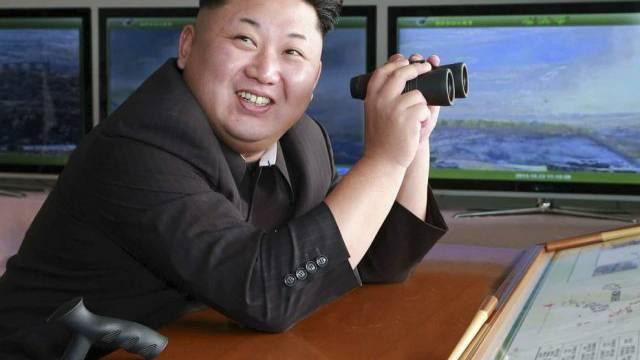 Erkennt einen Affen auf den ersten Blick: Nordkoreas Diktator Kim