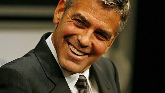 George Clooney geniesst Italien