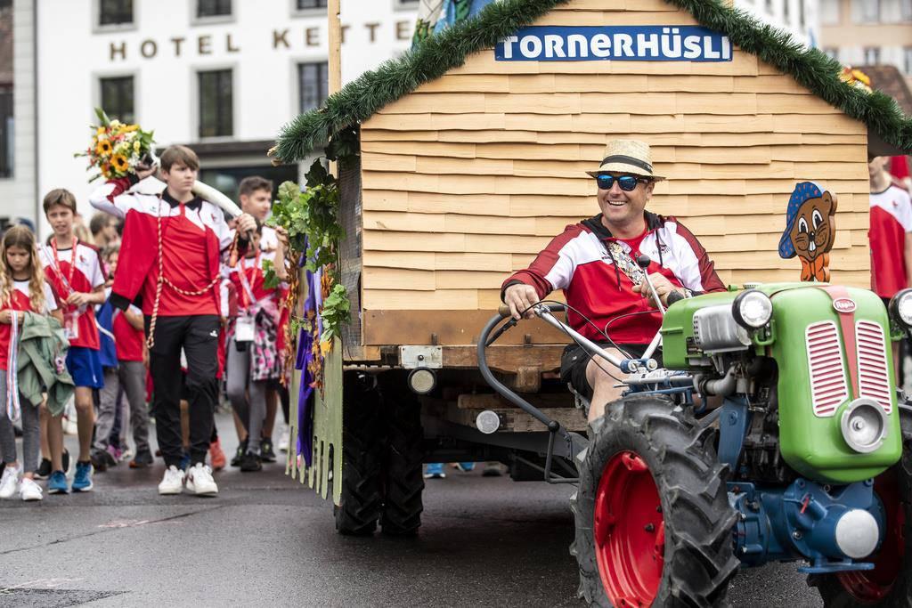 Festumzug durch Aarau (© Keystone)