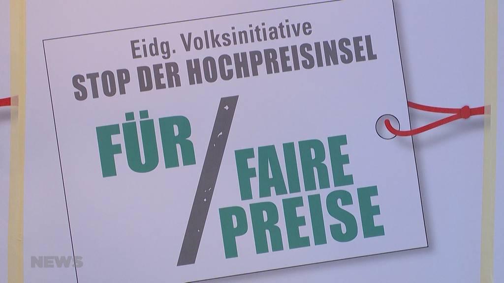 """Initiative gegen die """"Hochpreisinsel Schweiz"""""""
