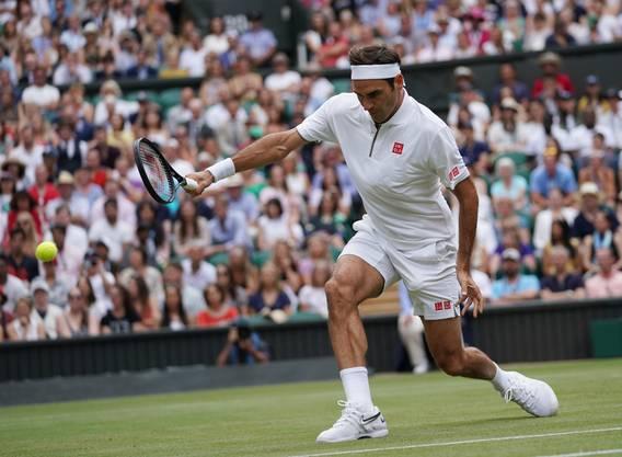 Ein Rasenplatz sei wie Wein, sagt Roger Federer.