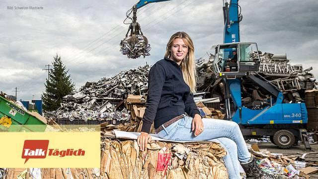 Karin Bertschi: Von der Müllkönigin zur SVP-Hoffnungsträgerin