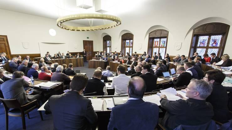 Der Kantonsrat startet mit der Session.