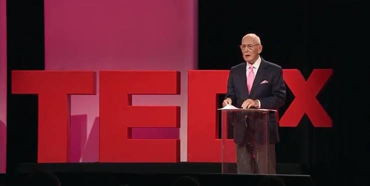 Über 600 000 Mal gesehen: Seine Ted-Rede.