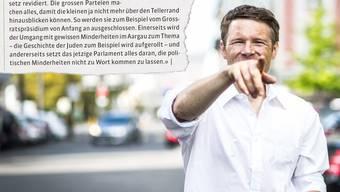 So liess Jonas Fricker 2014 eine zurücktretende Grossrätin der Grünen in einem Rundbrief der Kantonalpartei zu Wort kommen.