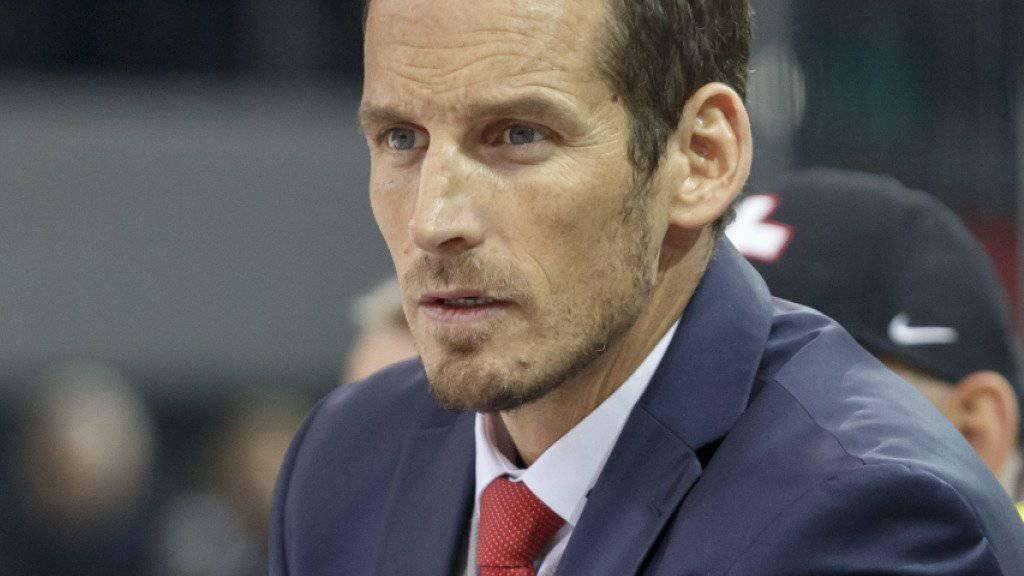 Nationaltrainer Patrick Fischer ist gegen Norwegen gefordert