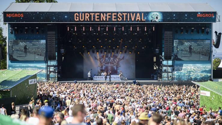 Das Gurtenfestival gehört zu den grossen Open-Airs in der Schweiz.