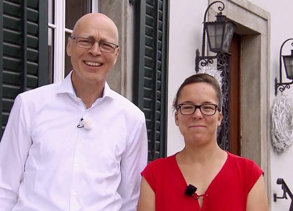 Gasthof Bären, Mägenwil: Bernhard Bühlmann und Stammgast Karin sind am Donnerstag, 23. August, an der Reihe.
