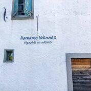 Hereinspaziert: Die Fassade der Domaine Wannaz. (zvg)