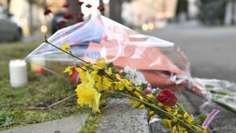 Ansicht des Tatorts, wo ein siebenjaehriger Schulbub Opfer eines Toetungsdelikts geworden ist, am Donnerstag, 21. Maerz 2019 in Basel. Mutmassliche Taeterin ist eine 75-jaehrige Frau. Sie wurde festgenommen. (KEYSTONE/Georgios Kefalas)