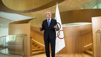 IOC-Präsident Thomas Bach hält hartnäckig an Tokio 2020 fest - im Gegensatz zu einigen nationalen Olympia-Komitees