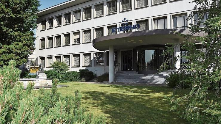 Einer der historisch bedeutenden Industriebauten im Quartier: die Eterna.