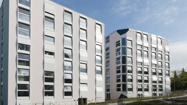 Städtische Siedlung in Zürich-Altstetten mit günstigen Wohnungen