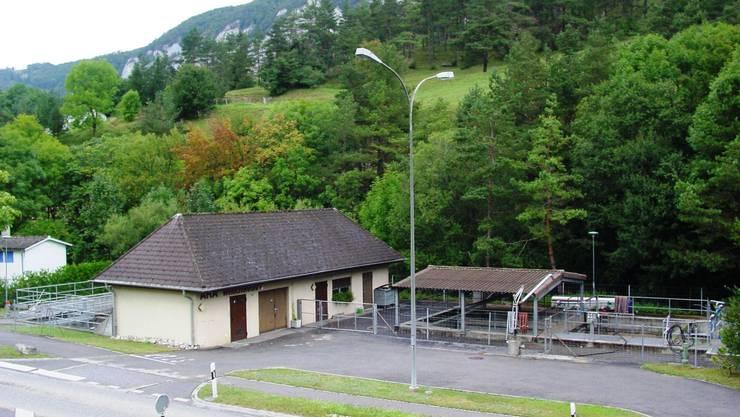 Ging 1980 in Betrieb und muss saniert werden: ARA Welschenrohr.