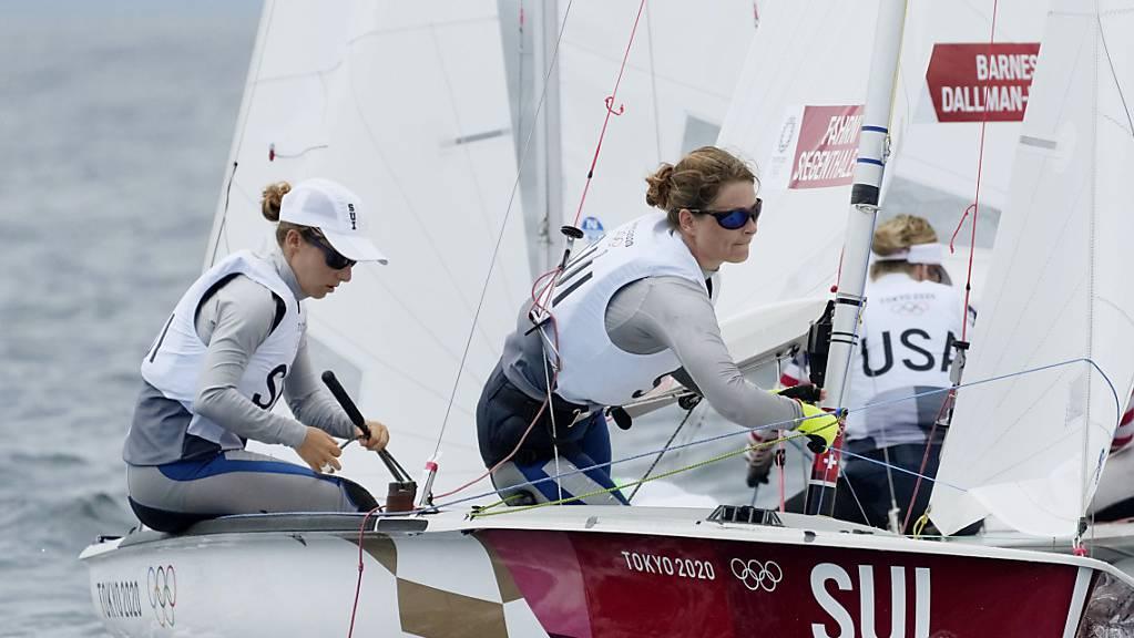 Hervorragender 4. Schlussrang für Maja Siegenthaler und Linda Fahrni.