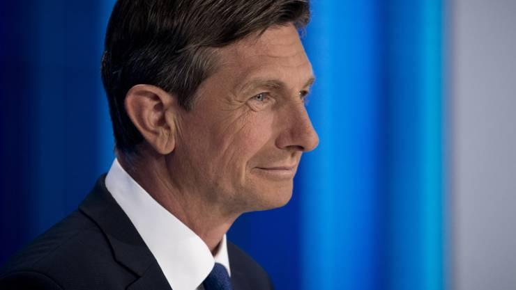 Dürfte Staatspräsident Sloweniens bleiben: Borut Pahor. (Archiv)
