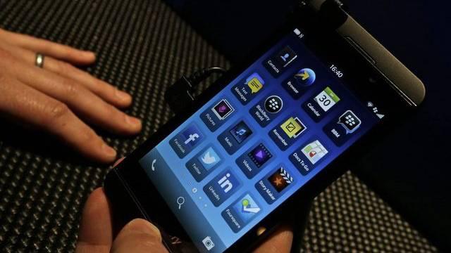 Das neue Blackberry-Smartphone Z10 mit Touchscreen
