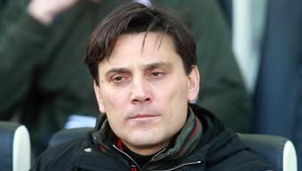 Erlebt schwierige Tage: Milan-Trainer Vincenzo Montella