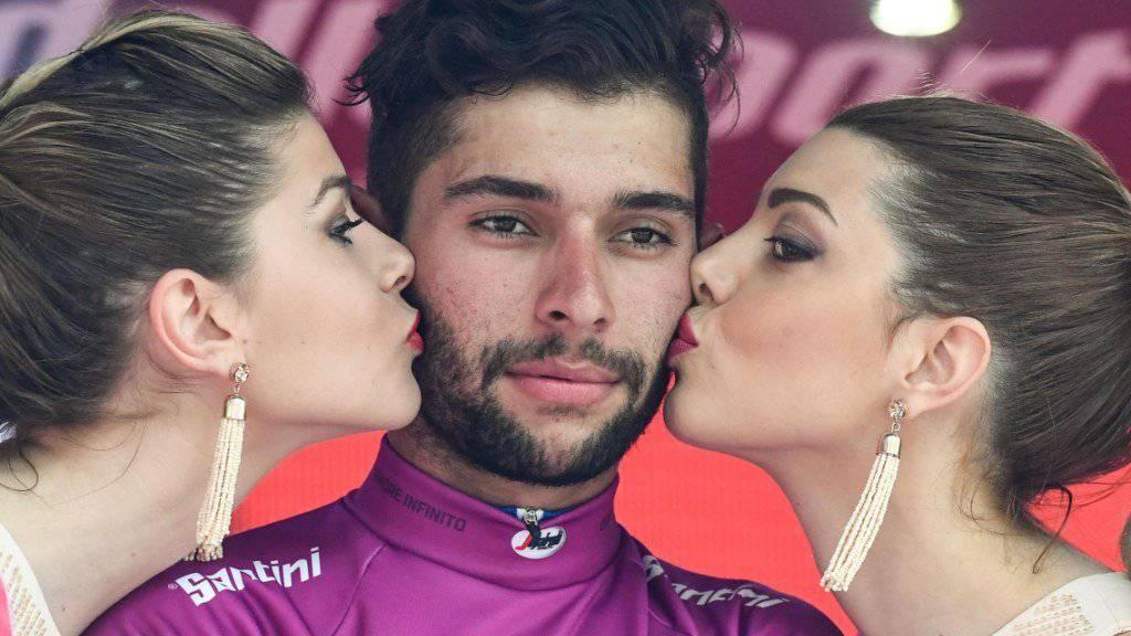 Bereits im Giro d'Italia gewann Fernando Gaviria im Frühling vier Etappen.