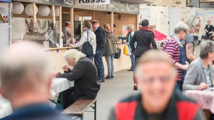 Der Markt Aarauer Gewerbetreibender 2017 eröffnete am 28.September