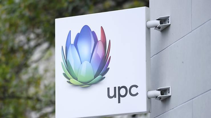 Der Kabelnetzbetreiber UPC hat im ersten Quartal 1,4 Prozent Umsatz eingebüsst. Als Erfolg wertet UPC hingegen den Start des Sportsenders MySports. (Archiv)