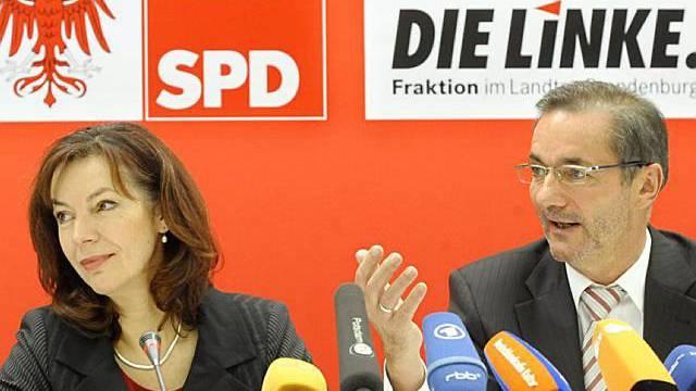 Linkspartei und SPD einigen sich auf Regierungskoalition