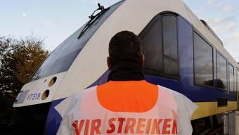 Warnstreiks im deutschen Bahnverkehr unterbrachen Verbindungen in die Schweiz