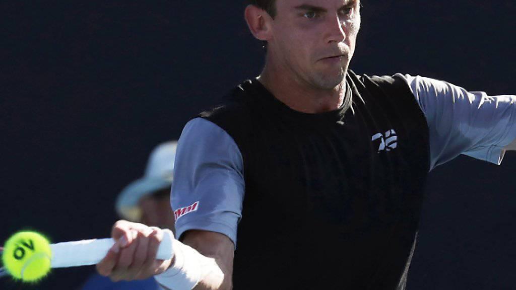 Erstmals bei einem Grand-Slam-Turnier siegreich: Henri Laaksonen steht am Australian Open in der 2. Runde