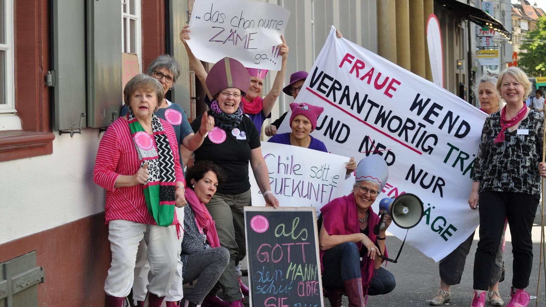Auch die Kirchenfrauen planen verschiedene Aktionen am nationalen Frauenstreiktag.