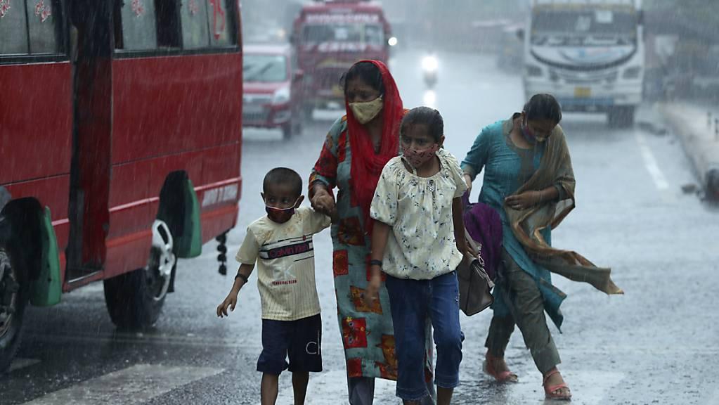 Die Monsunzeit in Indien hat in diesem Jahr bereits zahlreiche Opfer gefordert.