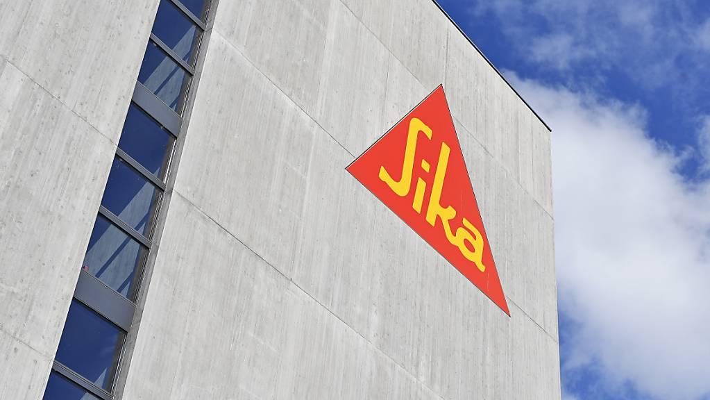 Der Bauchemiekonzern Sika investiert in der Schweiz: In Sarnen wird eine neue Produktionsanlage zur Herstellung von Baufolien erstellt. (Archivbild)