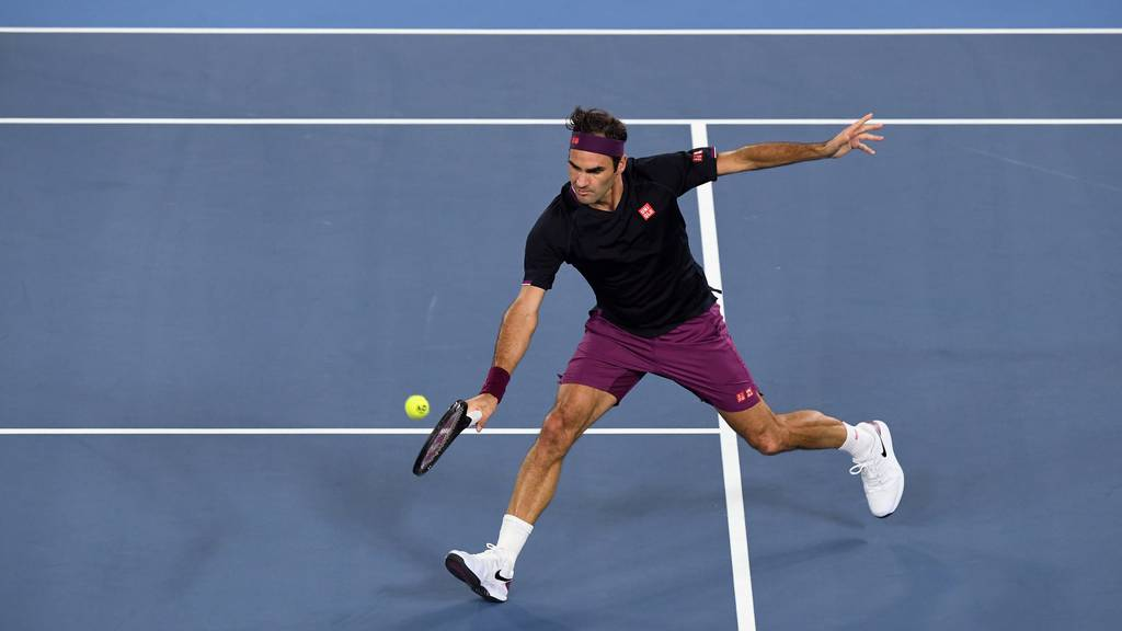 Federer startet erfolgreich in Australian Open